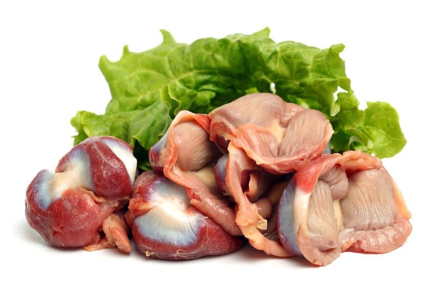Куриные желудки - польза и вред, хранение, выбор