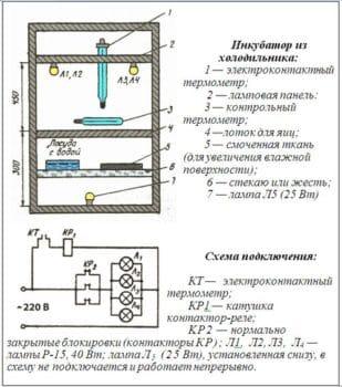 чертеж 2 холодильник
